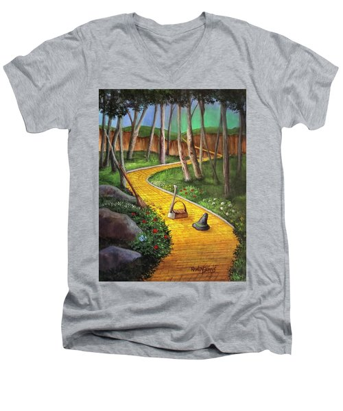 Memories Of Oz Men's V-Neck T-Shirt by Randy Burns