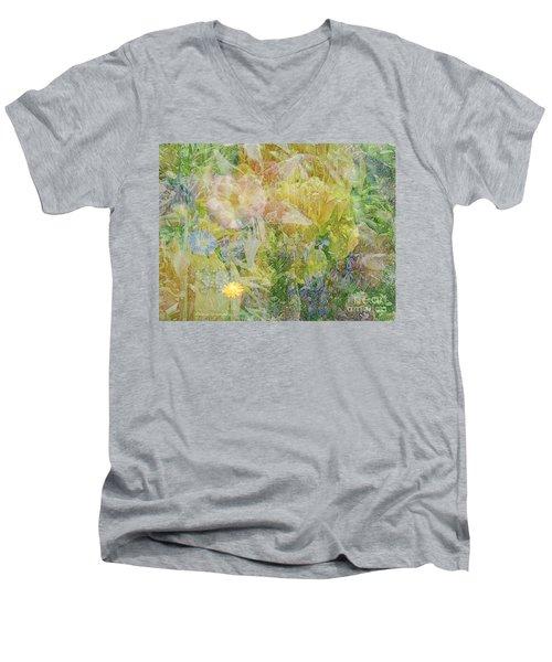 Memories Of The Garden Men's V-Neck T-Shirt