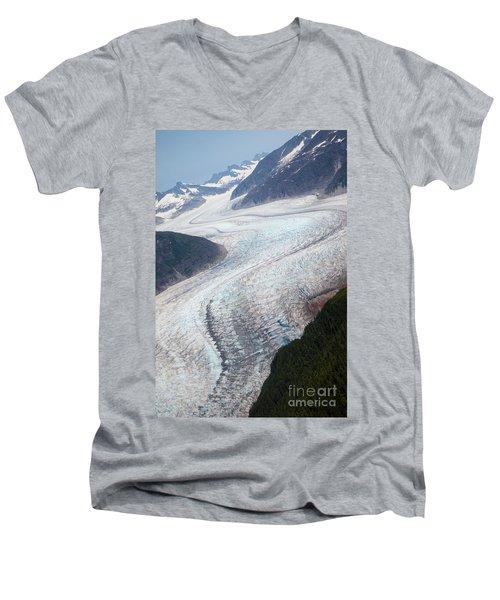 Mendenhal Glacier Men's V-Neck T-Shirt