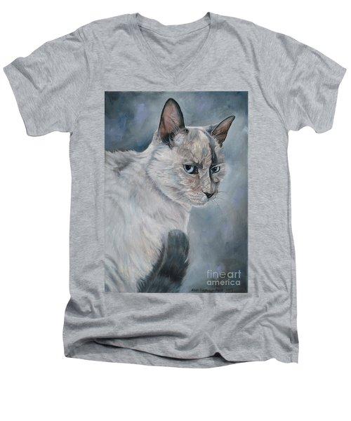 Meow Men's V-Neck T-Shirt