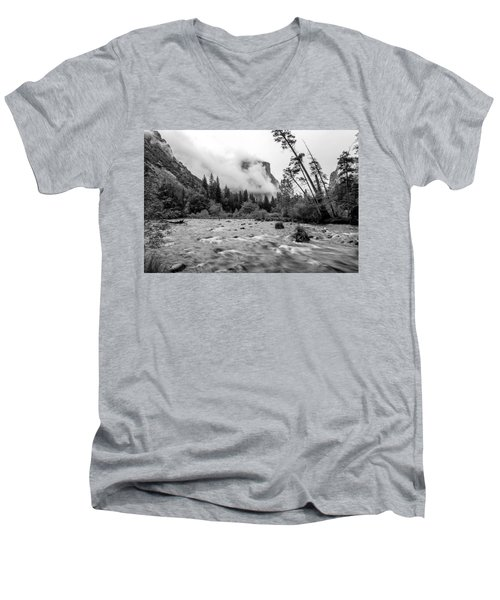 Merced River Men's V-Neck T-Shirt