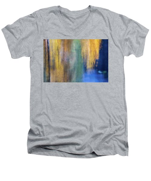 Merced River Reflections 17 Men's V-Neck T-Shirt