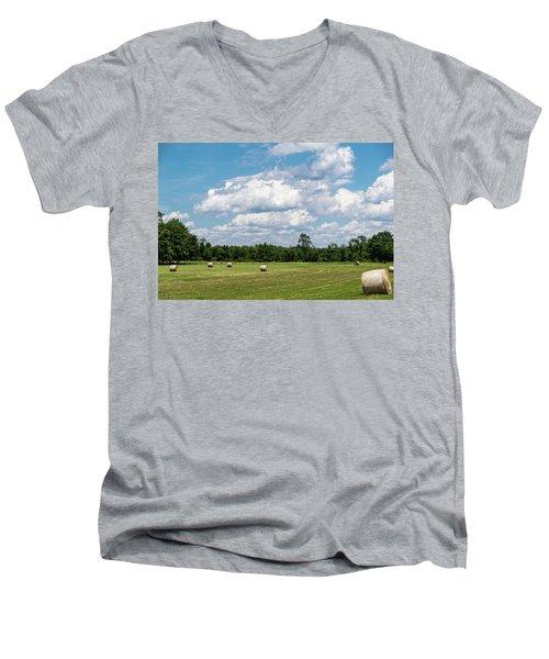 Mercer County Landscape Men's V-Neck T-Shirt