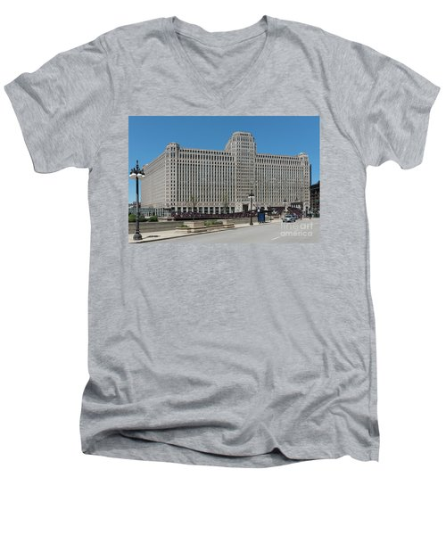 Merchandise Mart Men's V-Neck T-Shirt
