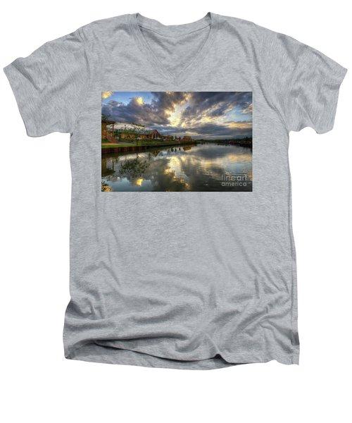 Mercia Marina 20.0 Men's V-Neck T-Shirt by Yhun Suarez