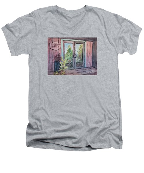 Mercier Orchards' Cider Men's V-Neck T-Shirt