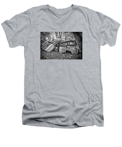 Merging Traffic Men's V-Neck T-Shirt