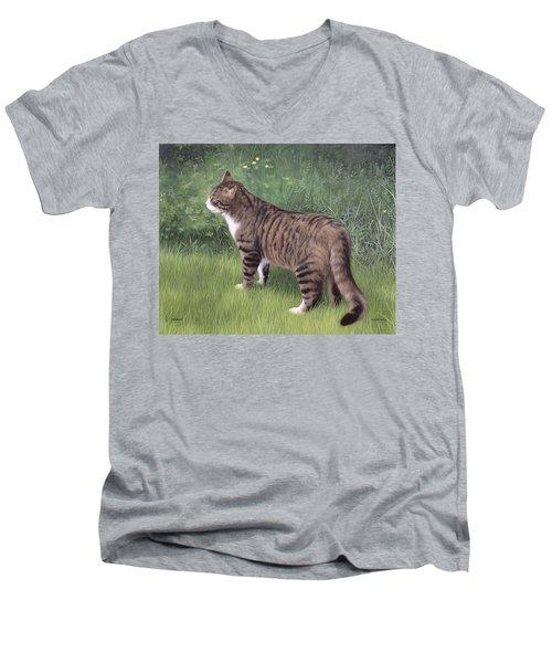 Merlin Portrait Men's V-Neck T-Shirt