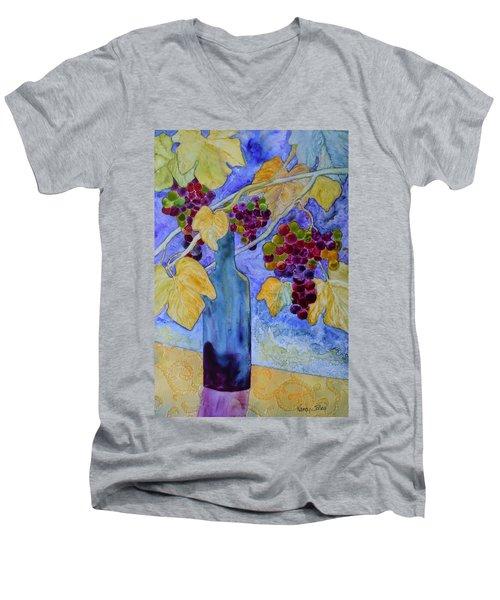 Merlot Men's V-Neck T-Shirt