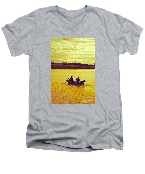 Merrily Merrily Merrily Merrily Men's V-Neck T-Shirt