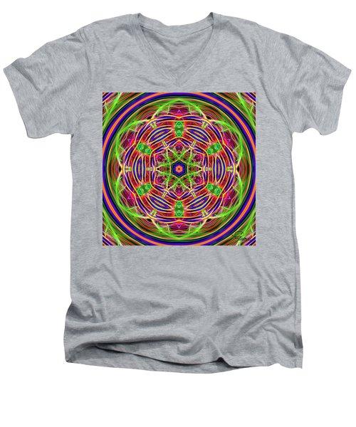Merry-go-round Men's V-Neck T-Shirt