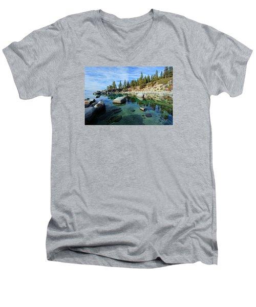 Mesmerized Men's V-Neck T-Shirt by Sean Sarsfield