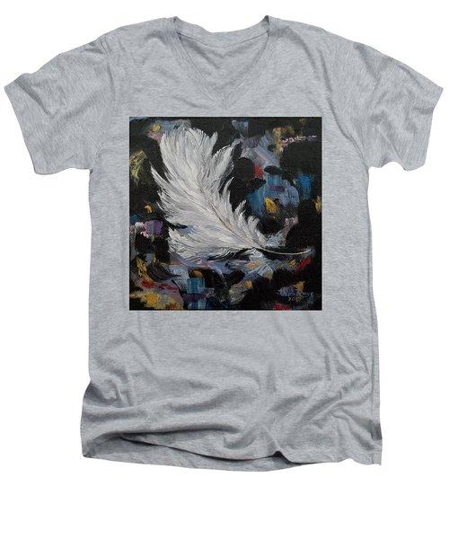 Message Received Men's V-Neck T-Shirt