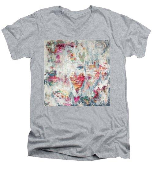 Messy Love Men's V-Neck T-Shirt