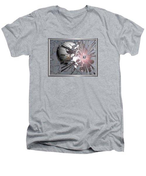 ' Meteors Might ' Men's V-Neck T-Shirt