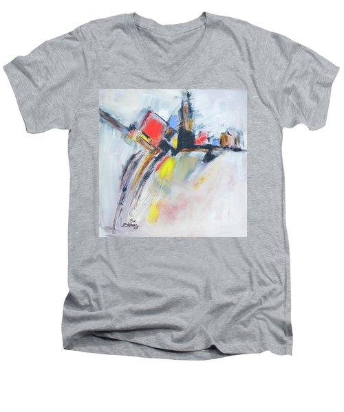 Metro Energy Men's V-Neck T-Shirt