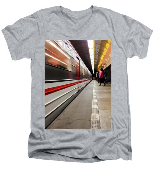 Metroland Men's V-Neck T-Shirt