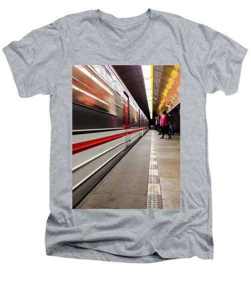 Metroland Men's V-Neck T-Shirt