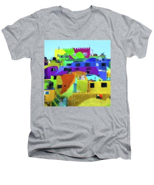 Mexican Homes Men's V-Neck T-Shirt