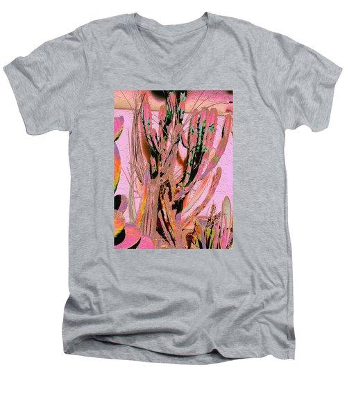 Mexico Colors 2 Men's V-Neck T-Shirt by M Diane Bonaparte