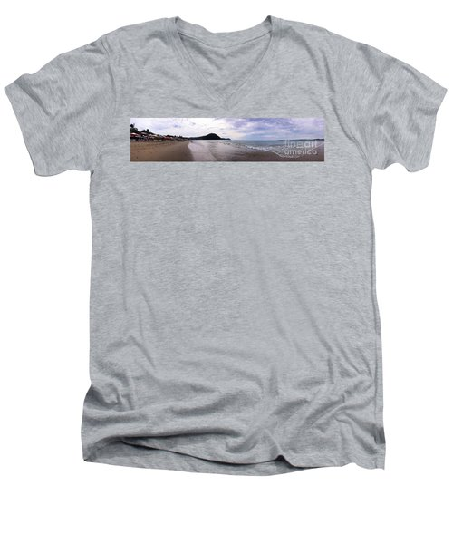 Men's V-Neck T-Shirt featuring the photograph Mexico Memories 7 by Victor K