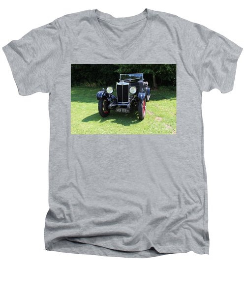 Mg Ta Men's V-Neck T-Shirt