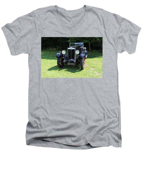 Mg Ta Men's V-Neck T-Shirt