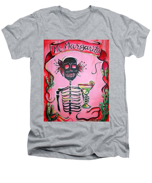 Mi Margarita Men's V-Neck T-Shirt