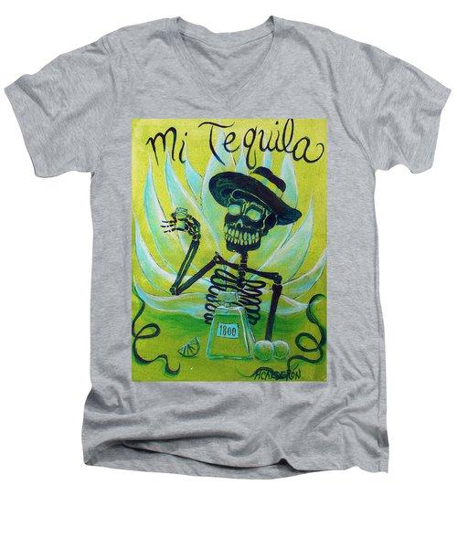 Mi Tequila Men's V-Neck T-Shirt