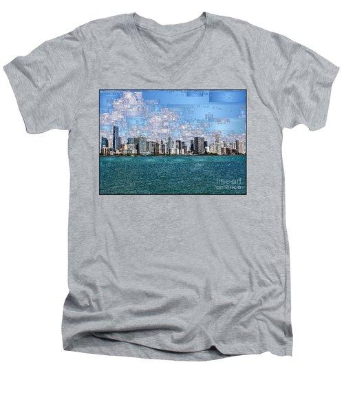 Miami, Florida Men's V-Neck T-Shirt