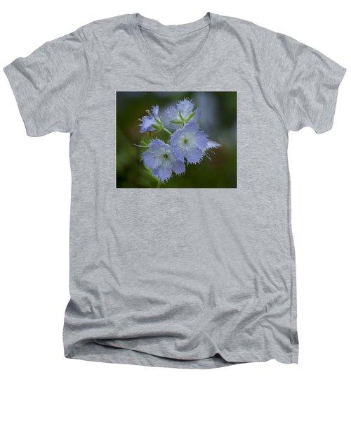 Miami Mist Bloom Men's V-Neck T-Shirt