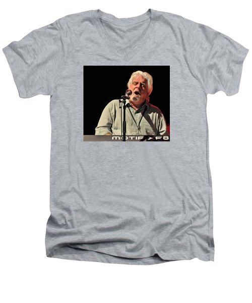 Michael Mcdonald At Tampa Bay Men's V-Neck T-Shirt