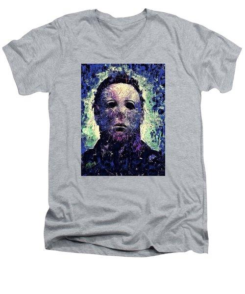 Michael Myers Men's V-Neck T-Shirt