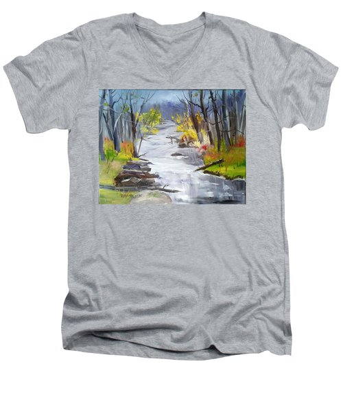 Michigan Stream Men's V-Neck T-Shirt