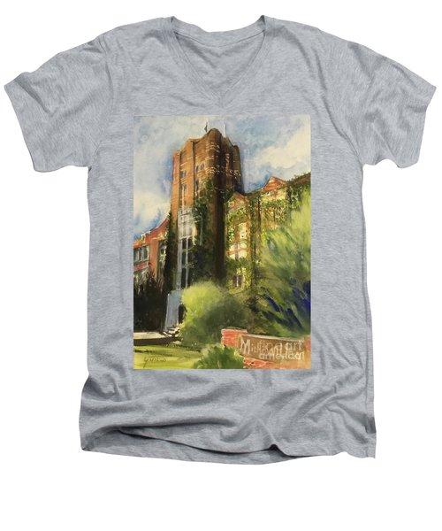 Michigan Union Men's V-Neck T-Shirt