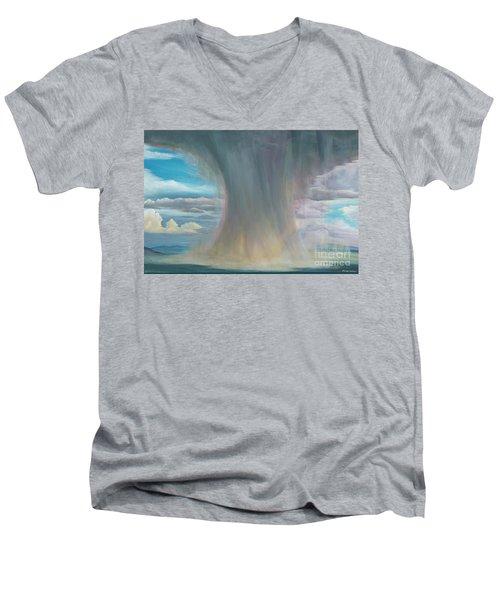 Microburst Men's V-Neck T-Shirt