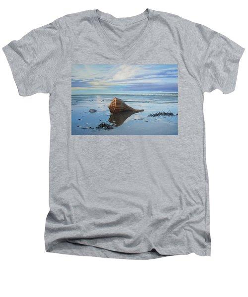 Mid February Men's V-Neck T-Shirt