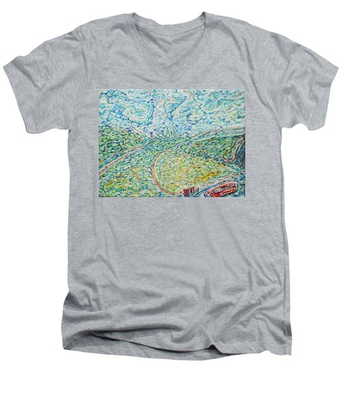 Midday Steam Men's V-Neck T-Shirt