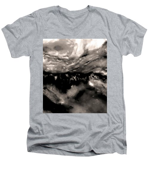 Middle Earth Shell Story Men's V-Neck T-Shirt