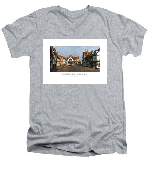 Middle Row East Grinstead Men's V-Neck T-Shirt