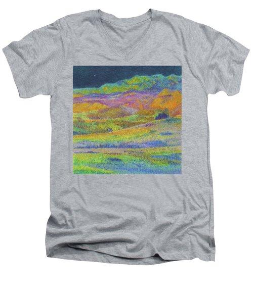 Midnight Magic Dream Men's V-Neck T-Shirt