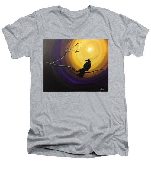 Midnight Raven Men's V-Neck T-Shirt