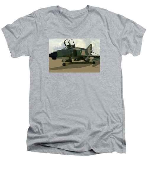 Mig Killer Men's V-Neck T-Shirt