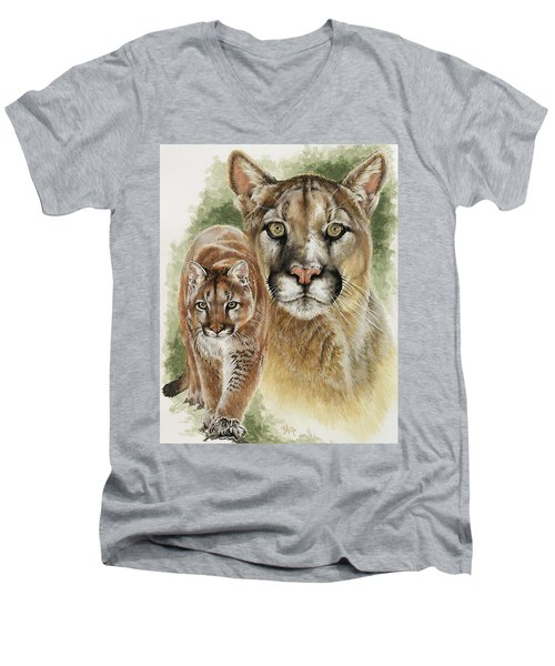 Mighty Men's V-Neck T-Shirt