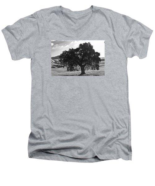Mighty The Oak Men's V-Neck T-Shirt