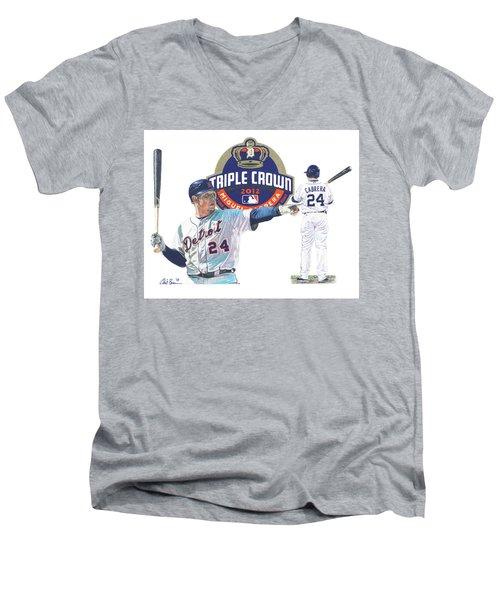 Miguel Cabrera Men's V-Neck T-Shirt