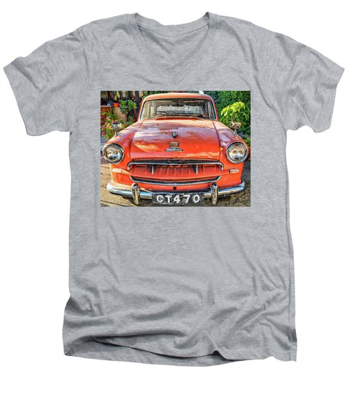 Miki's Car Men's V-Neck T-Shirt