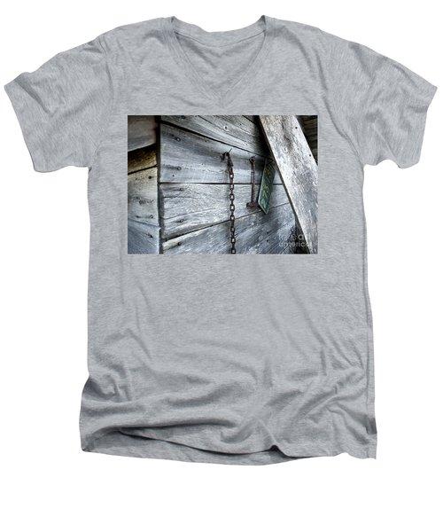 Milk Shed Men's V-Neck T-Shirt