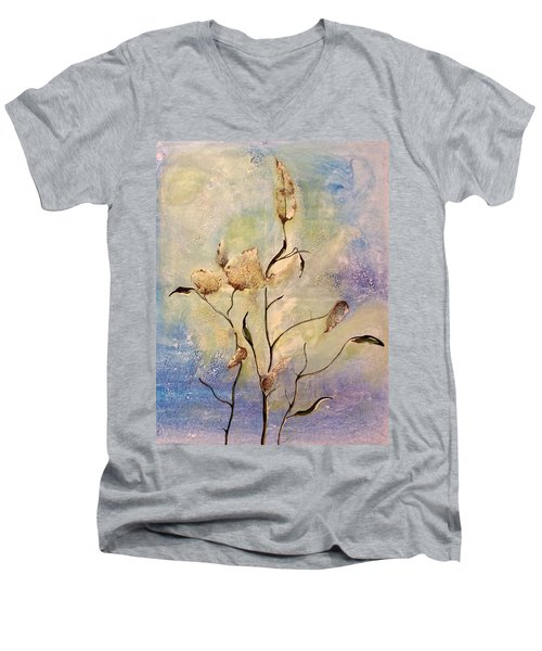 Milkweed Men's V-Neck T-Shirt