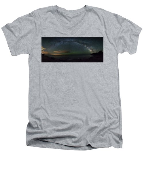 Milky Way Arch Men's V-Neck T-Shirt